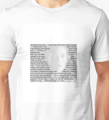 Firefly Quotes - River Tam Unisex T-Shirt