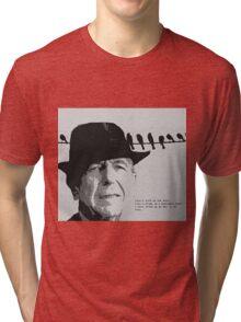 Cohen's Bird on a Wire Tri-blend T-Shirt