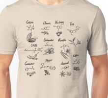The Chemistry of Food Unisex T-Shirt