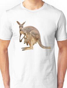 Kangaroo mom Unisex T-Shirt