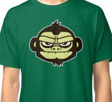 gorille cartoon tête humour Classic T-Shirt