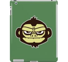 gorille cartoon tête humour iPad Case/Skin