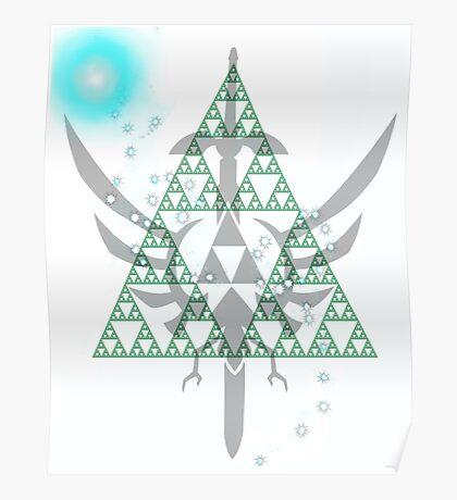 Navi triforce Poster