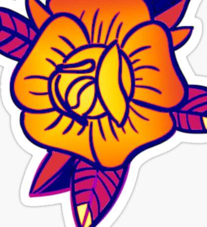 Limited Edition Malibu Rose Sticker