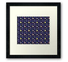 Space Adventure. Framed Print