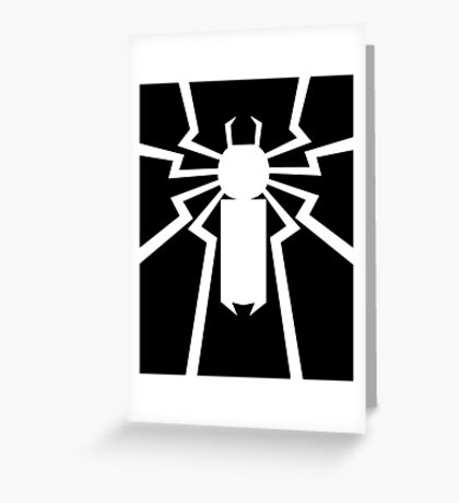 Flash's Spider Greeting Card
