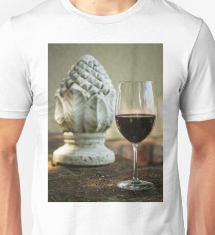 Wine and Sculptures Unisex T-Shirt