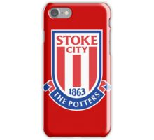 the potters,stoke city iPhone Case/Skin