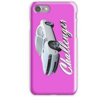 Challenger In Pink iPhone Case/Skin