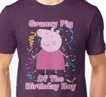 Granny pig (of the birthday boy) Unisex T-Shirt