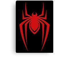 Miles' Spider Canvas Print