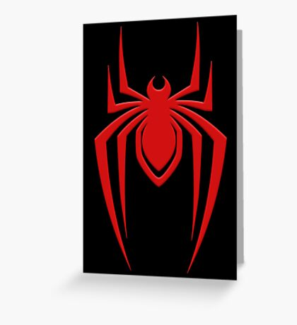 Miles' Spider Greeting Card