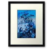Carmen is A Cosmic Girl! Framed Print