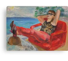 True relaxation Canvas Print