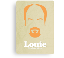 Louie Custom Poster Canvas Print