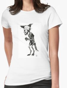 DECAY FOX Womens Fitted T-Shirt