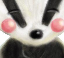 Wee Badger Sticker