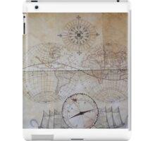vintage map. iPad Case/Skin