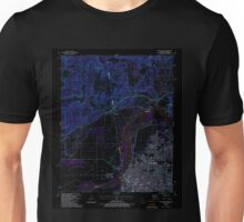 USGS TOPO Map Arkansas AR Fort Smith 258488 1987 24000 Inverted Unisex T-Shirt