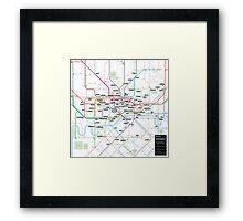 #tagsandthecity / London Framed Print