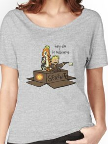 They aim to Misbehave Women's Relaxed Fit T-Shirt