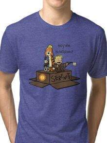They aim to Misbehave Tri-blend T-Shirt