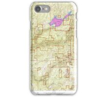 USGS TOPO Map California CA Sly Park 300542 1952 24000 geo iPhone Case/Skin