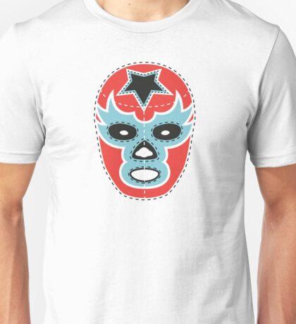 Vintage Lucha Libre Mask 01 Unisex T-Shirt