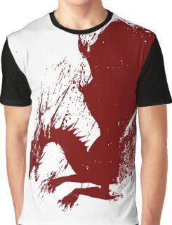 Dragon Grunge Graphic T-Shirt
