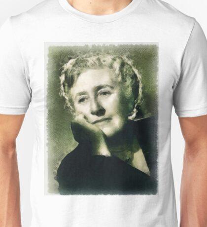 Agatha Christie Author Unisex T-Shirt