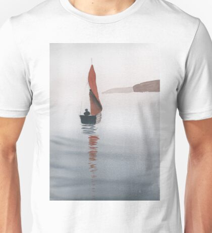 Small Wooden Sailing Boat Unisex T-Shirt