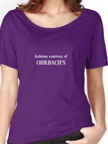 Fashions Courtesy of Ohrbach's Women's Relaxed Fit T-Shirt