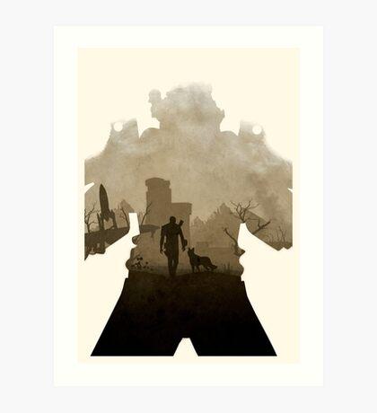Nuclear 4 (No Text) Art Print