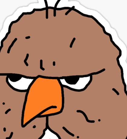 Owly sticker Sticker