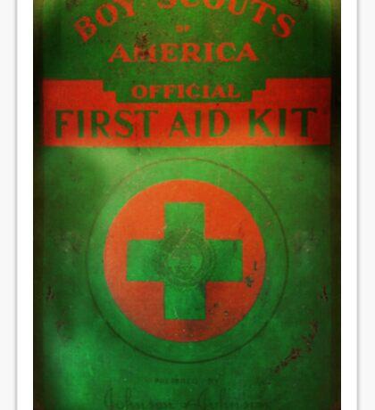 Boy Scout First Aid Kit Sticker