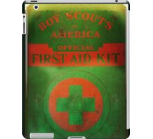 Boy Scout First Aid Kit iPad Case/Skin