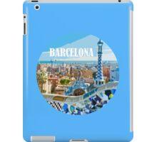 Barcelona is my home iPad Case/Skin