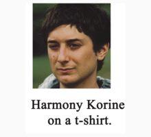 Harmony Korine on a t-shirt. by jamielemon
