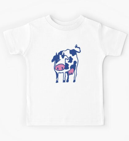 Holstein Cow Breed Artwork  Kids Tee