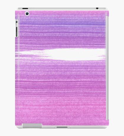 New in shop : Original brush pattern Purple iPad Case/Skin