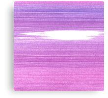 New in shop : Original brush pattern Purple Canvas Print