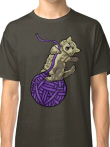 Wrecking Ball Kitty Classic T-Shirt