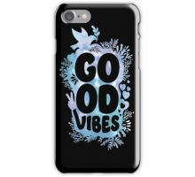 GOOD VIBES WATER COLOR  iPhone Case/Skin