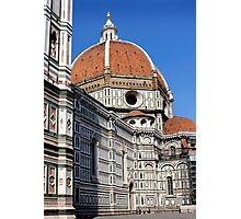 The Duomo of Florence Italy Photographic Print