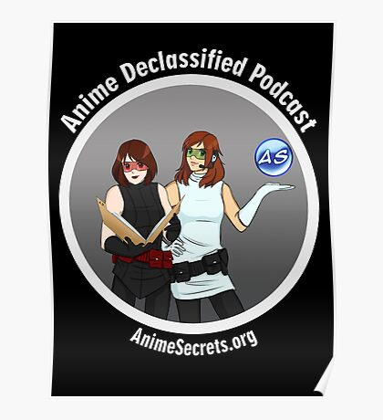 Anime Declassified Podcast Poster