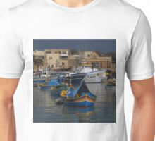 Marsaxlokk Boats ( 1:1 Version ) Unisex T-Shirt