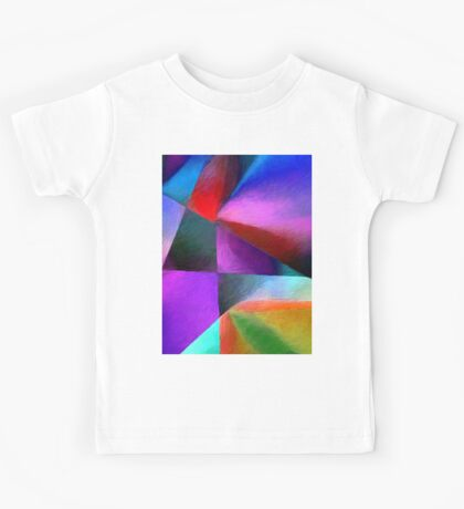 The Square  Glass Of Light Kids Tee