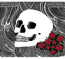 Back to Skull Photographic Print