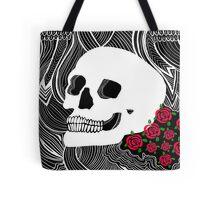 Back to Skull Tote Bag