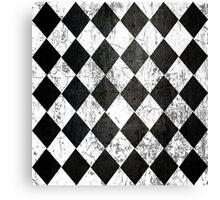 Black Diamonds Canvas Print